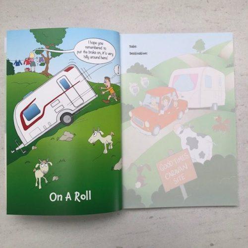 Caravan Journal 2nd Edition from Leisure Logs Journals