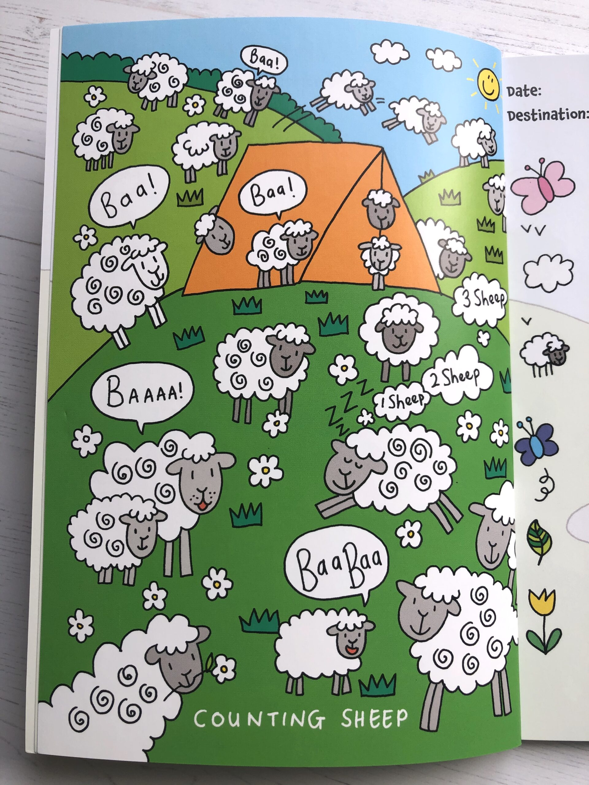 Camping, Camp, Journal, Diary, Camping Fun, Camp with kids
