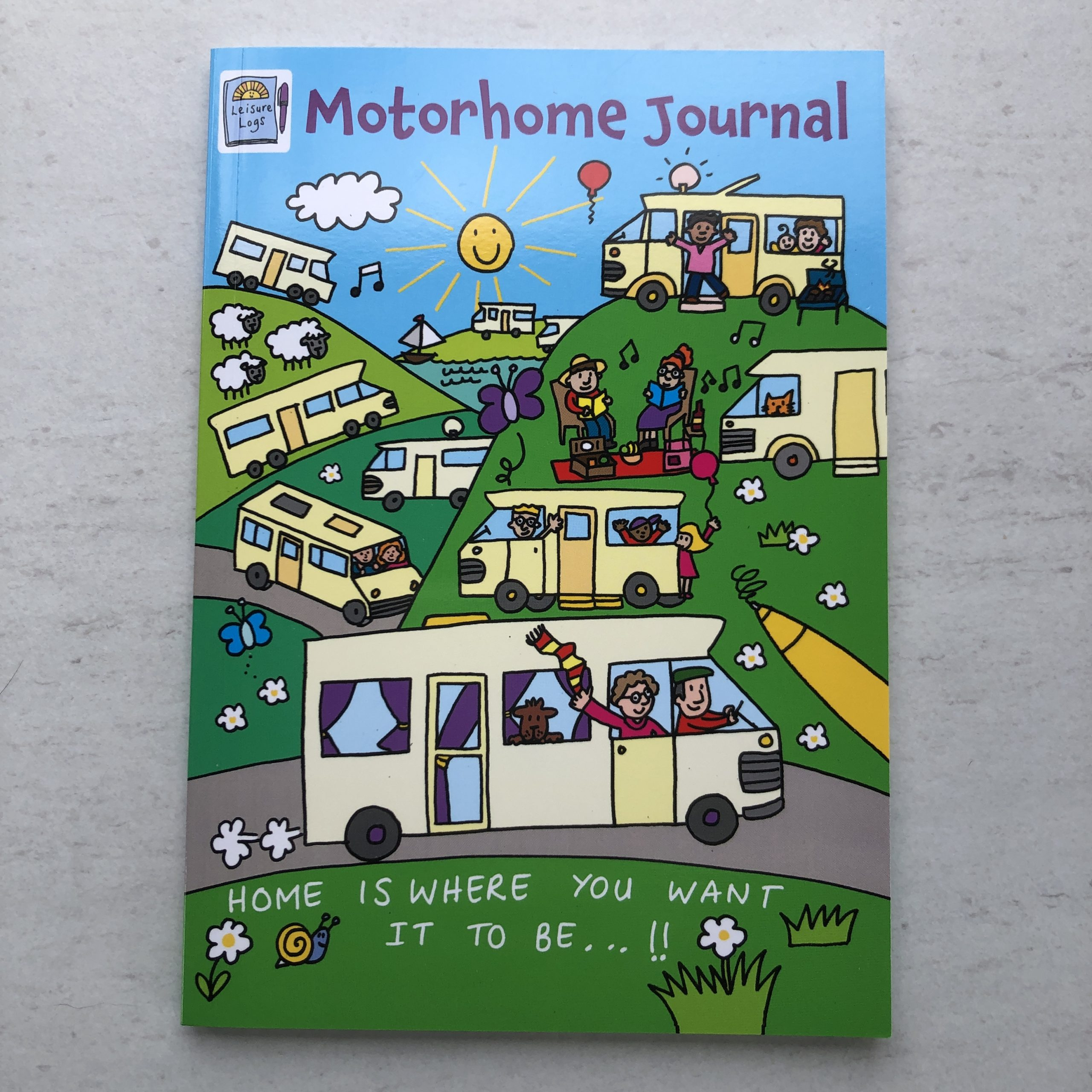 Laminated cover of our Motorhome Journal