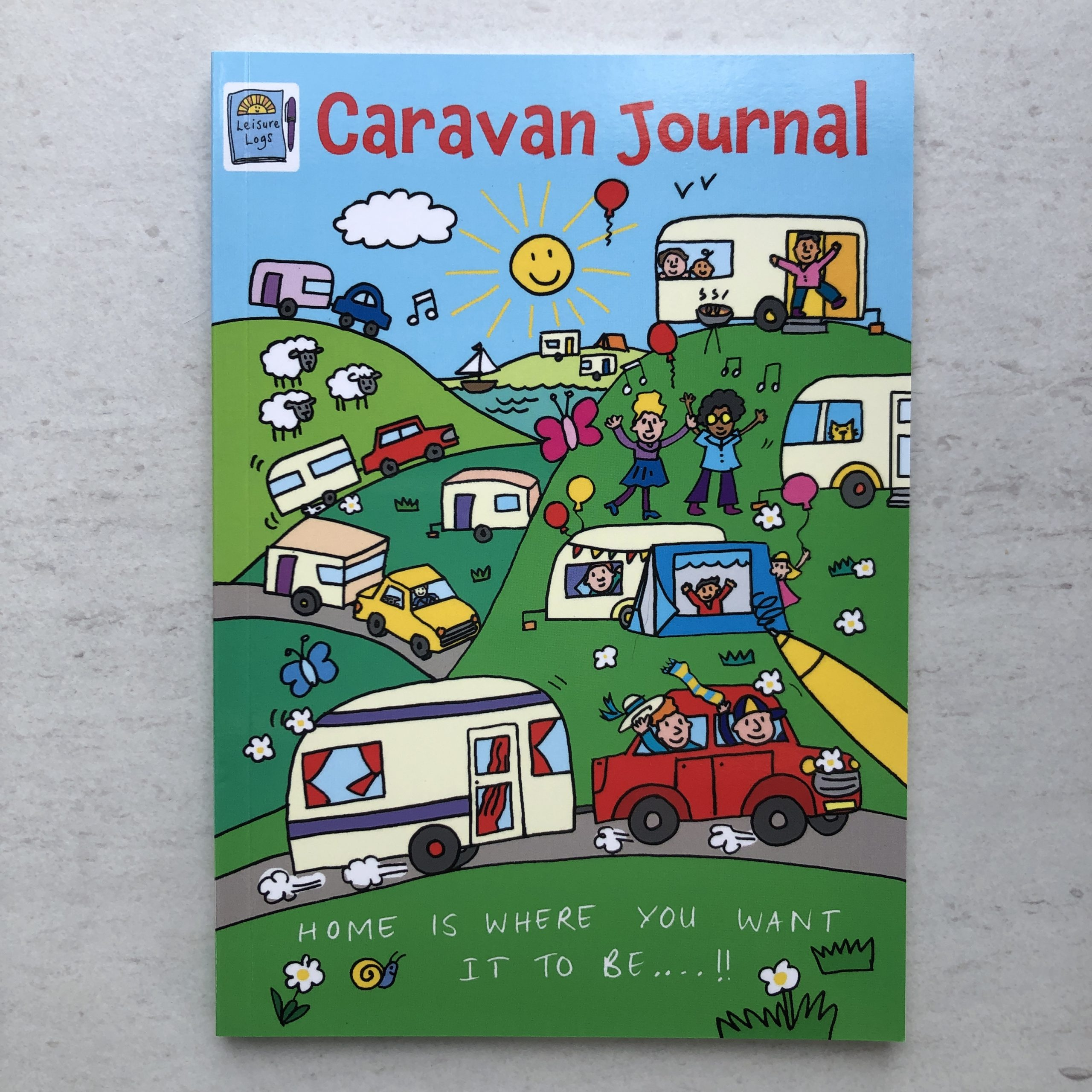 Cover of our Caravan Journal